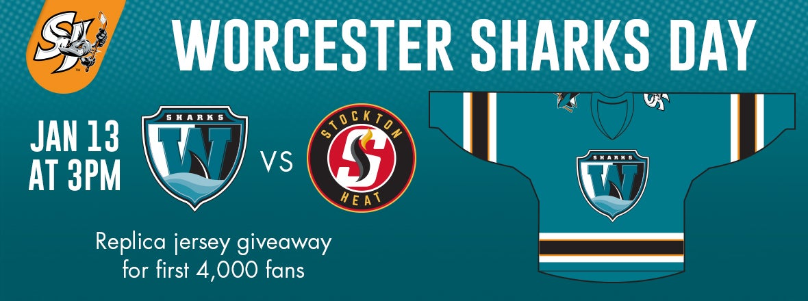 'CUDA SET TO BECOME THE WORCESTER SHARKS ON JAN. 13TH