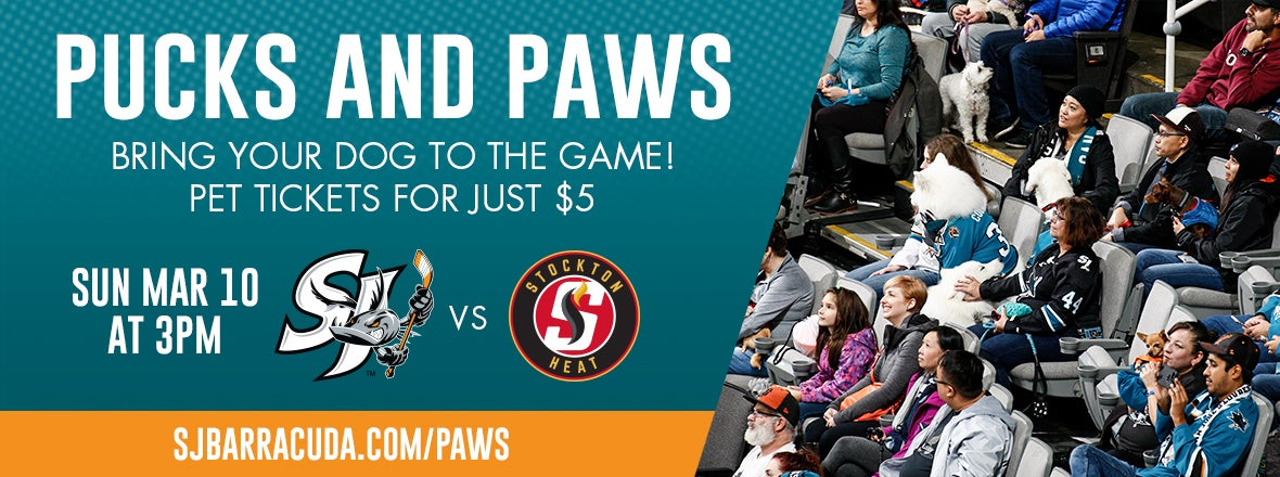 PUCKS AND PAWS DAY SET FOR MARCH 10