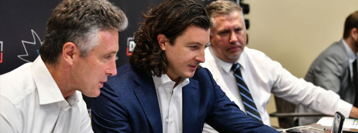 SHARKS CONCLUDE 2021 NHL DRAFT WITH NINE SELECTIONS