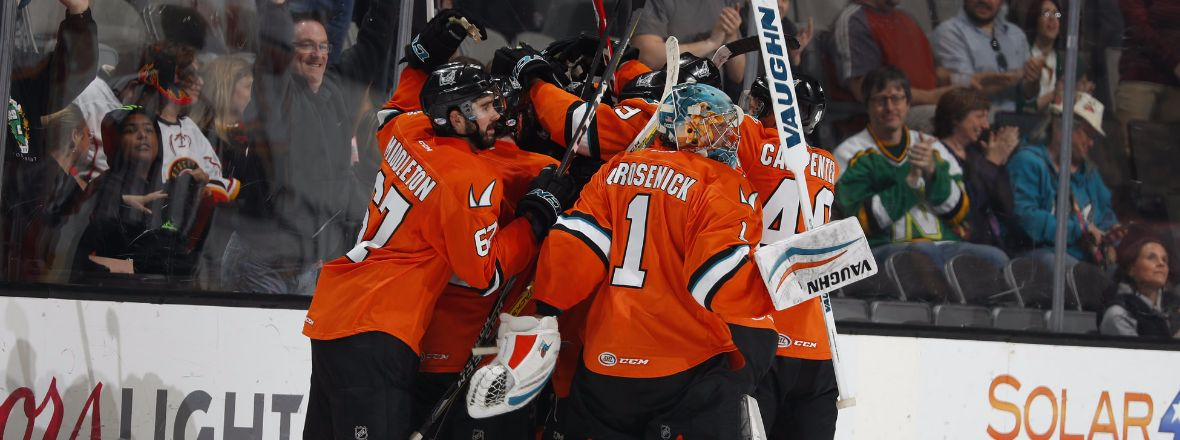 BARRACUDA UPEND HEAT IN OVERTIME, 2-1