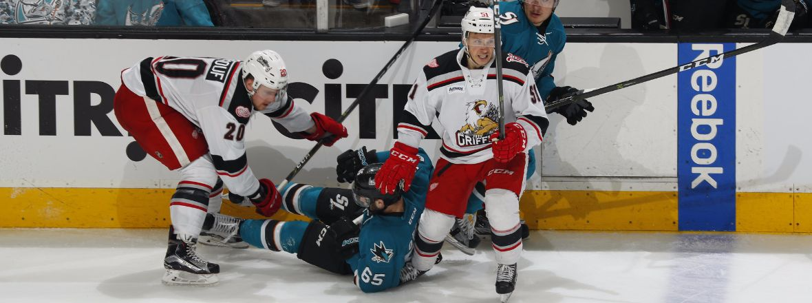BARRACUDA FALL TO GRIFFINS IN GAME 1 OF THE WEST FINALS