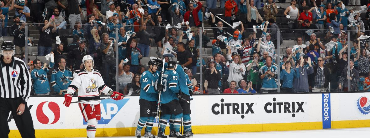 BARRACUDA EVEN SERIES WITH 4-2 WIN OVER GRAND RAPIDS