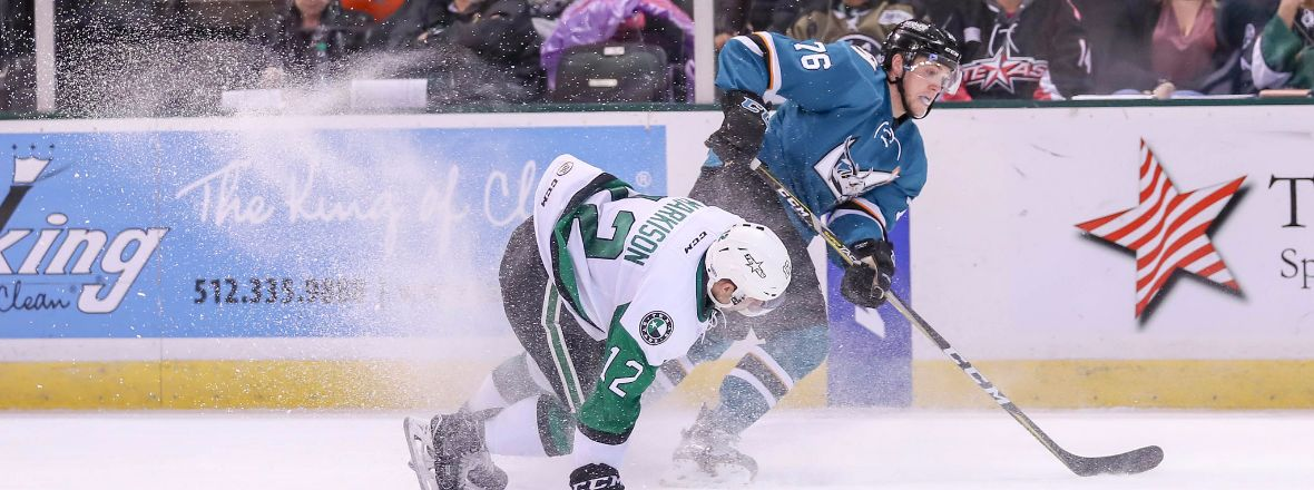 BARRACUDA EARN POINT, LOSE 3-2 TO TEXAS IN A SHOOTOUT