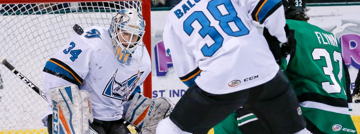 BARRACUDA EARN POINT IN 3-2 OVERTIME LOSS AT TEXAS
