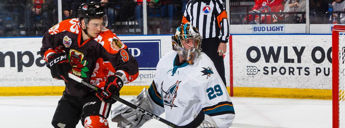 BARRACUDA DOWNED BY ROCKFORD'S FOUR-GOAL THIRD