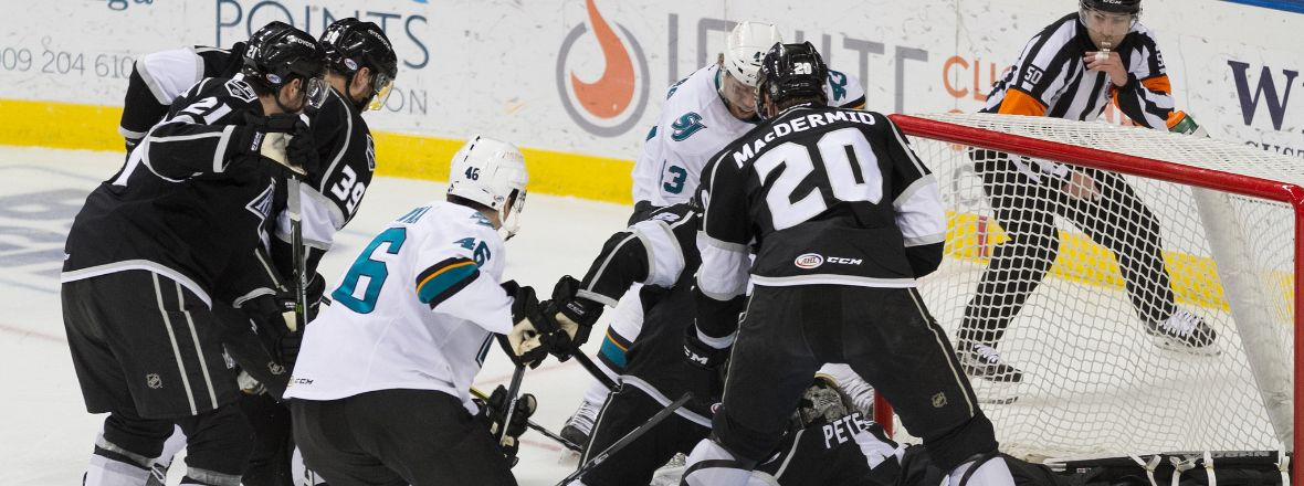 BARRACUDA STUMBLE OUT OF THE GATES, LOSE 5-2 IN ONTARIO