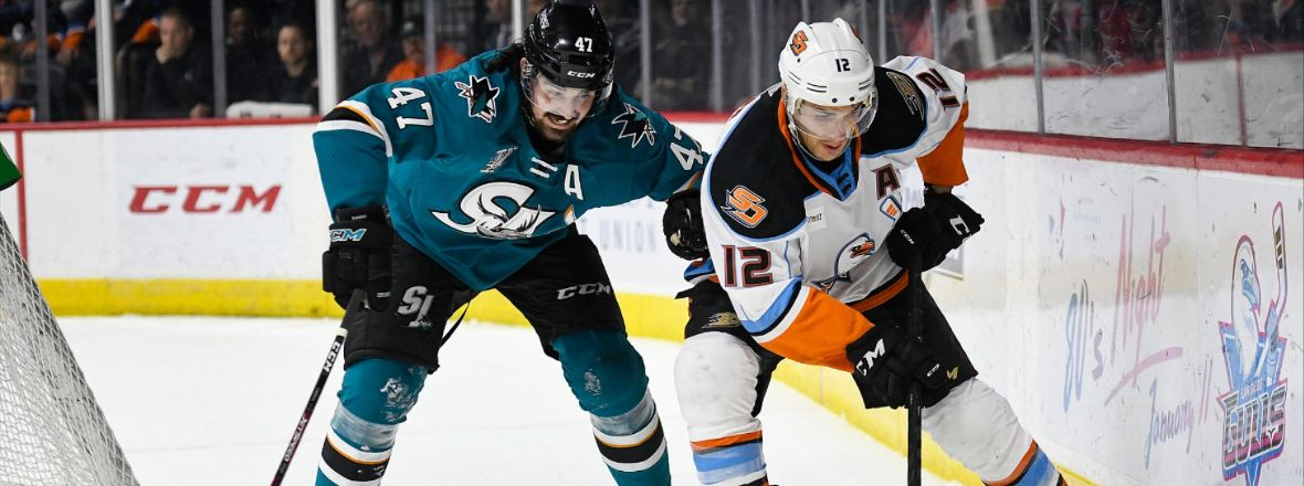THIRD-PERIOD COMEBACK SPARKS 4-2 WIN AT GULLS