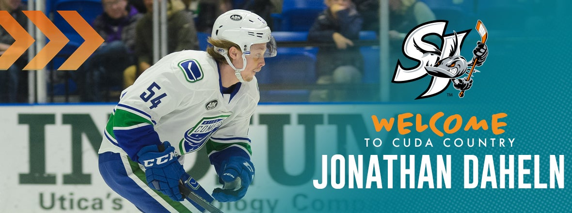 SHARKS ACQUIRE JONATHAN DAHLEN FROM VANCOUVER
