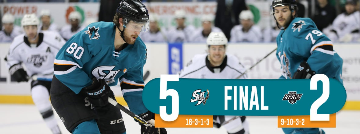 BARRACUDA ROLL PAST REIGN 5-2
