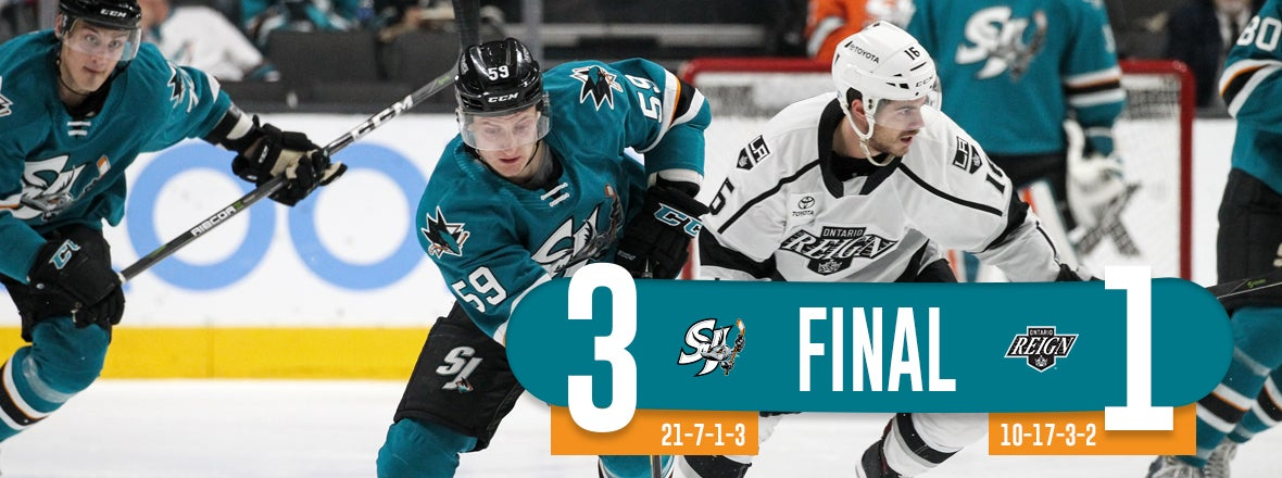 BARRACUDA ROLL PAST REIGN 3-1