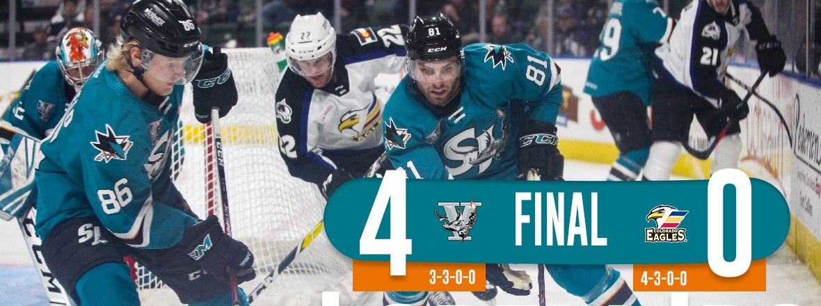 BARRACUDA NET FOUR IN THE FIRST, BLANK EAGLES 4-0