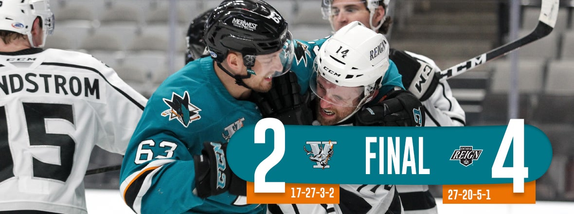 BARRACUDA FALL IN SEESAW BATTLE WITH REIGN