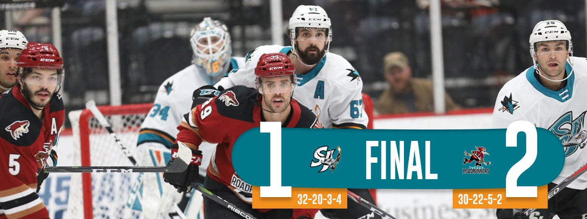 BARRACUDA UPENDED LATE BY TUCSON, 2-1