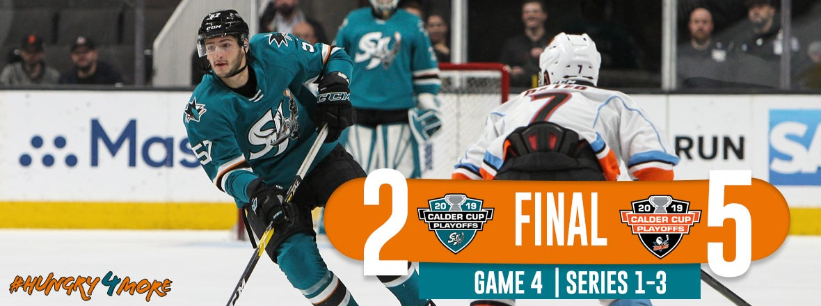 BARRACUDA ELIMINATED FROM PLAYOFFS AFTER 5-2 LOSS TO SAN DIEGO