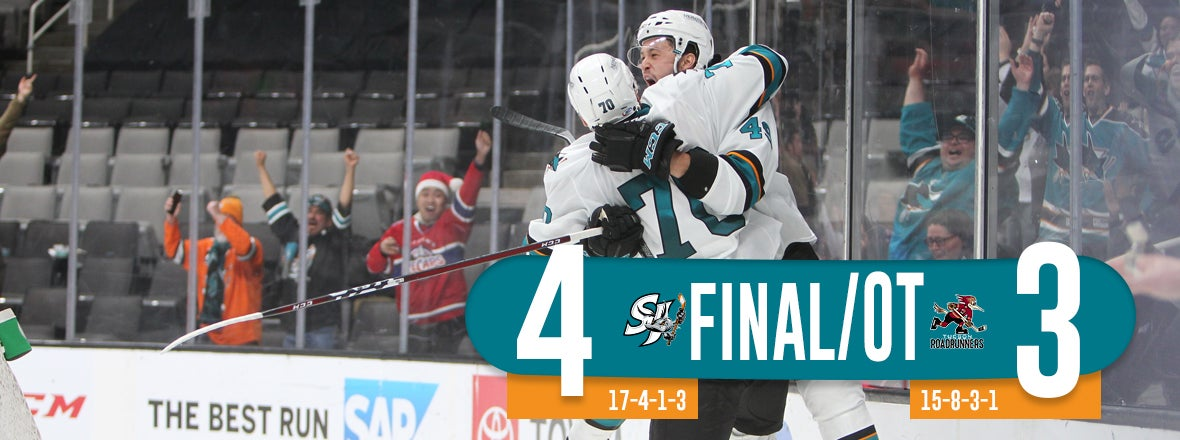 BARRACUDA RALLY FOR SEVENTH-STRAIGHT HOME WIN