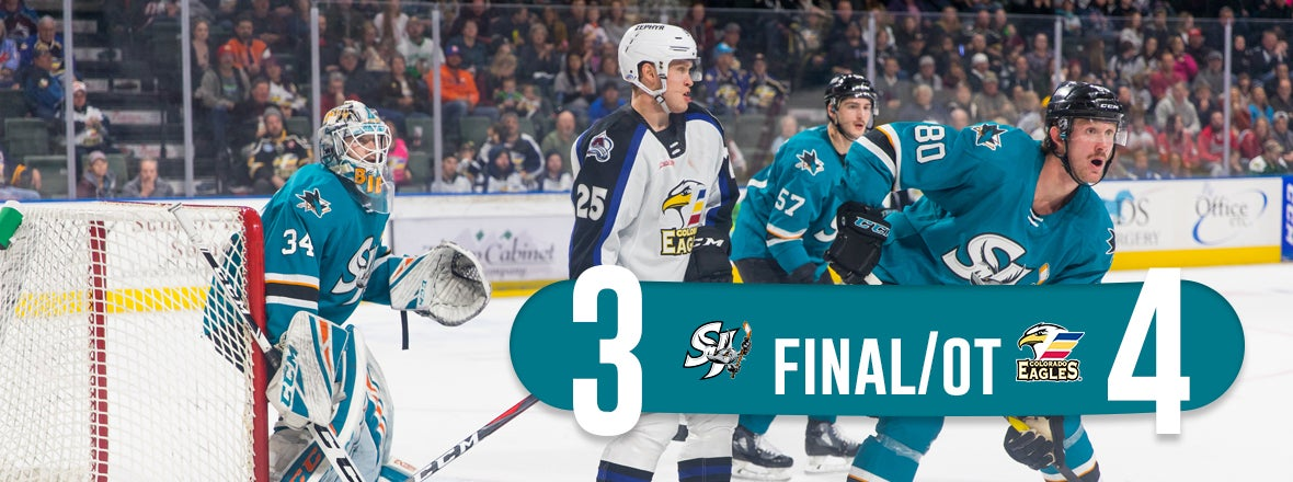 BARRACUDA EARN POINT IN OT LOSS AT COLORADO