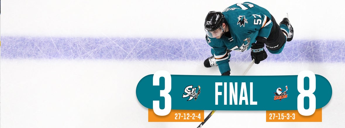 BARRACUDA GIVE UP EIGHT, FALL 8-3