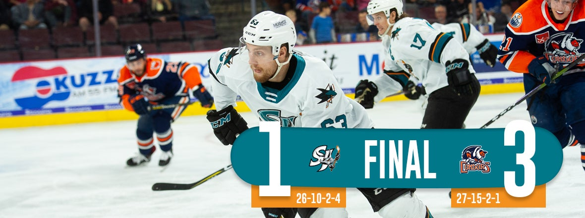 BARRACUDA OUTLASTED BY RED-HOT CONDORS, 3-1