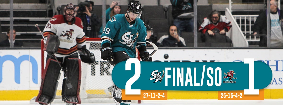 BARRACUDA SNAP SKID WITH 2-1 SHOOTOUT WIN