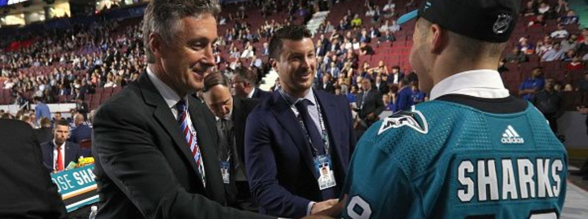 SHARKS CONCLUDE 2019 NHL DRAFT WITH FIVE SELECTIONS