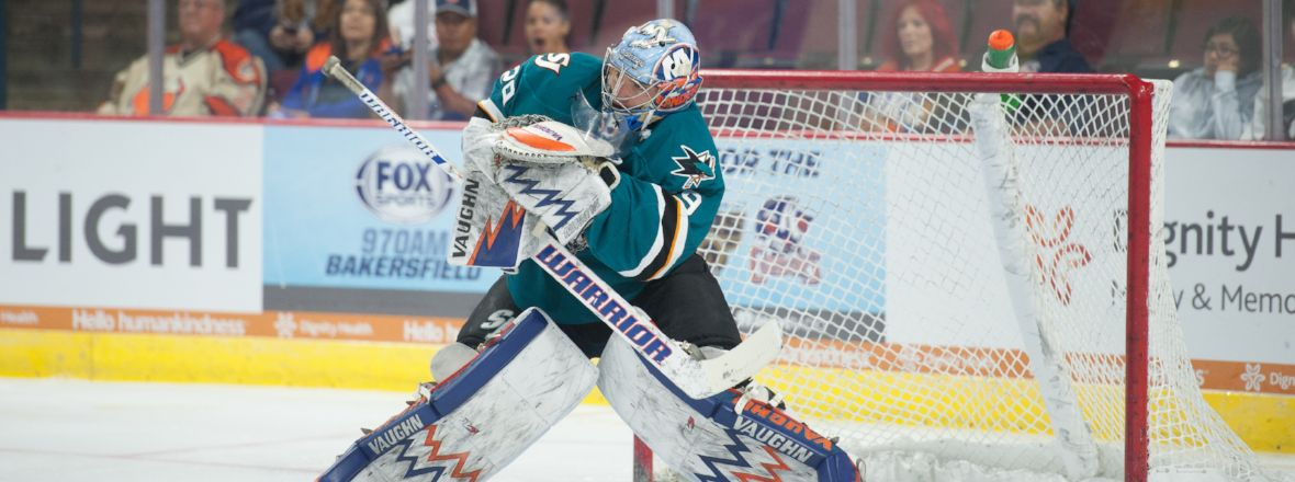 BARRACUDA RECALL GOALTENDER STEPHON WILLIAMS