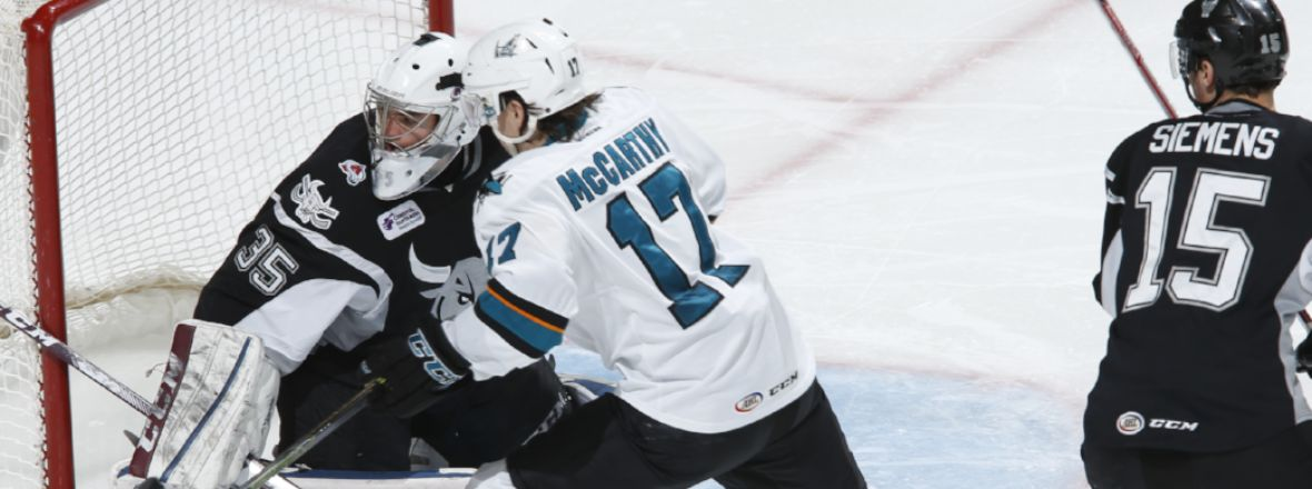 GAME DAY: BARRACUDA VS. RAMPAGE