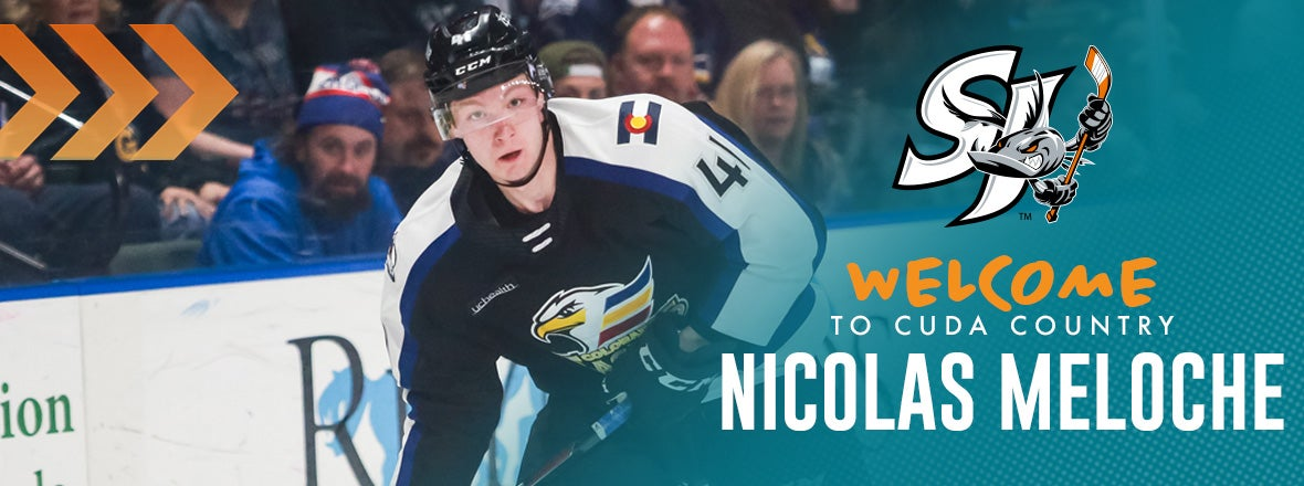 SHARKS ACQUIRE MELOCHE IN EXCHANGE FOR BIBEAU