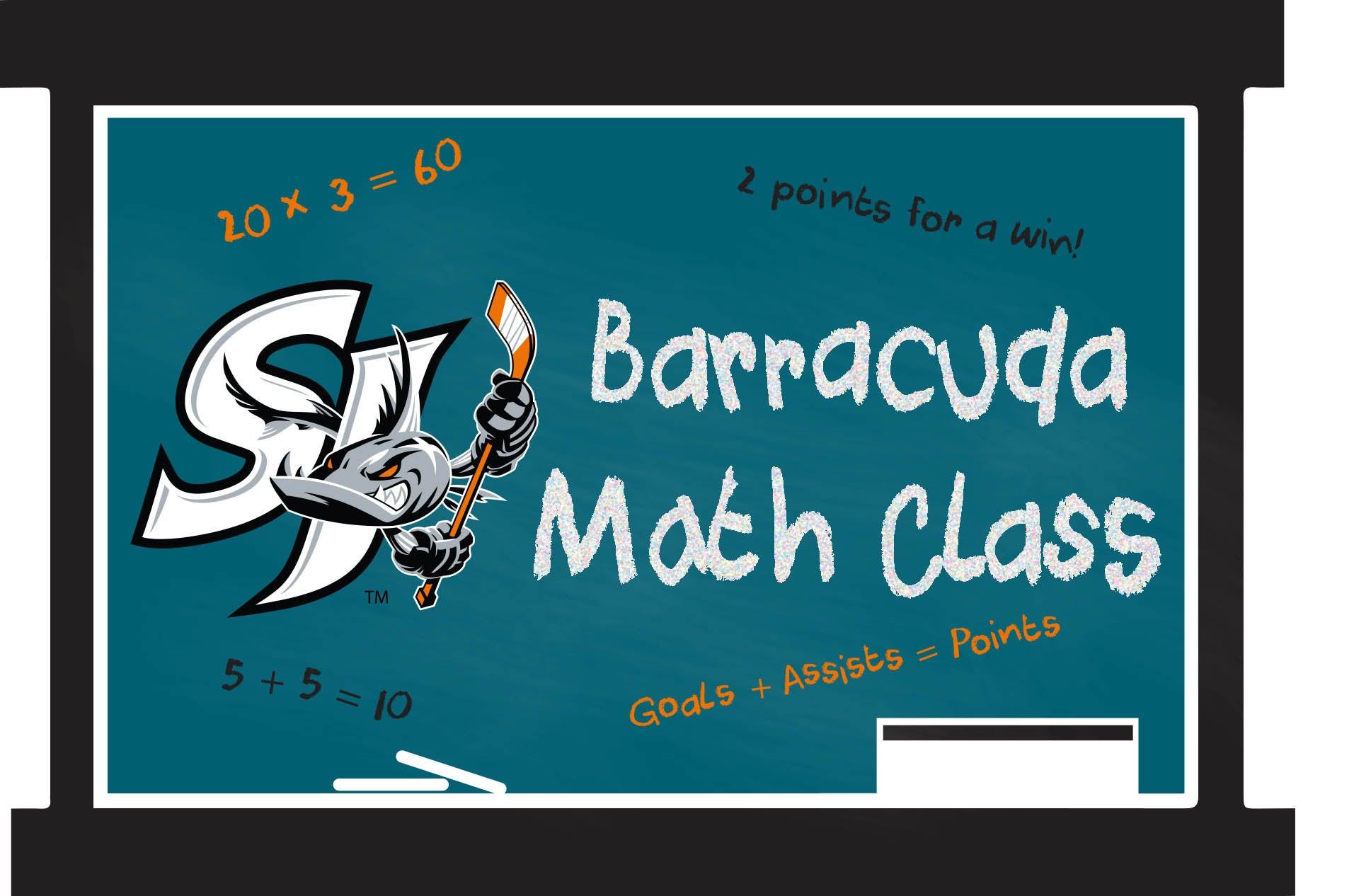 Barracuda Math Class | San Jose Barracuda