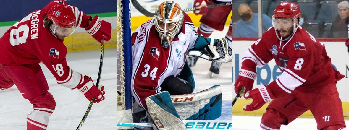 BARRACUDA RECALL THREE PLAYERS FROM ALLEN AMERICANS