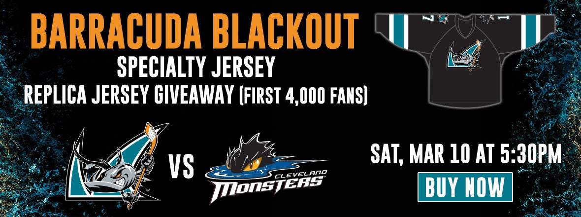 'CUDA BLACKOUT NIGHT FEATURING GIVEAWAY JERSEY