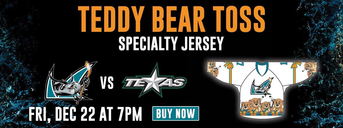 BARRACUDA TEDDY BEAR TOSS THIS FRIDAY DEC. 22
