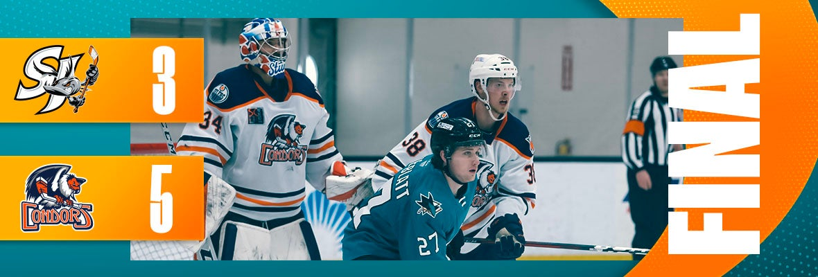 BARRACUDA FALL TO CONDORS IN HOME FINALE