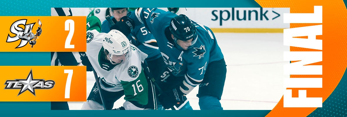 BARRACUDA OUTSHINED BY STARS 7-2