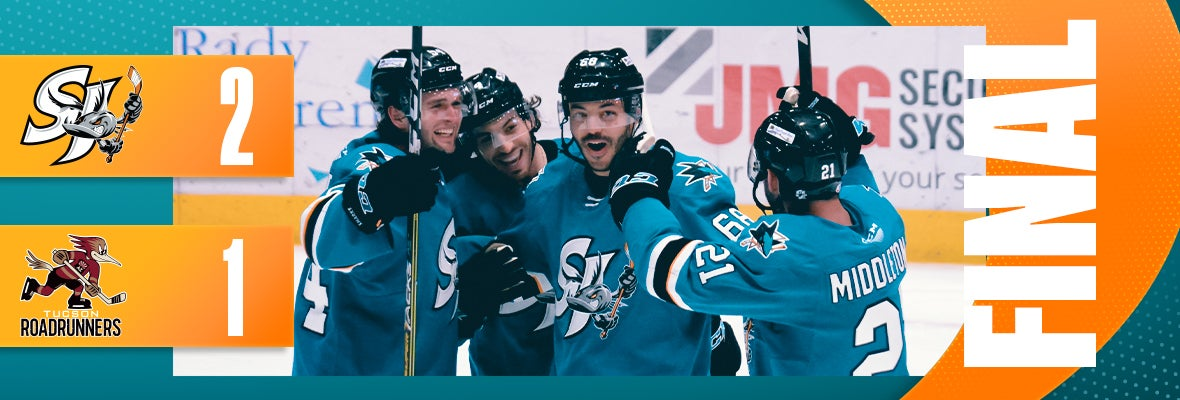 BARRACUDA TAKE DOWN ROADRUNNERS 2-1, MOVE ON IN PLAYOFFS
