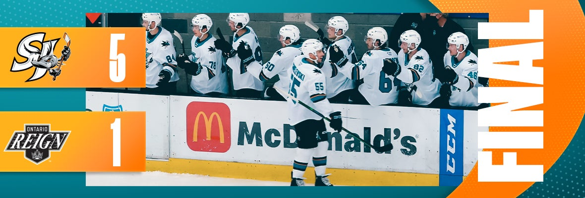 BARRACUDA ROLL PAST REIGN 5-1