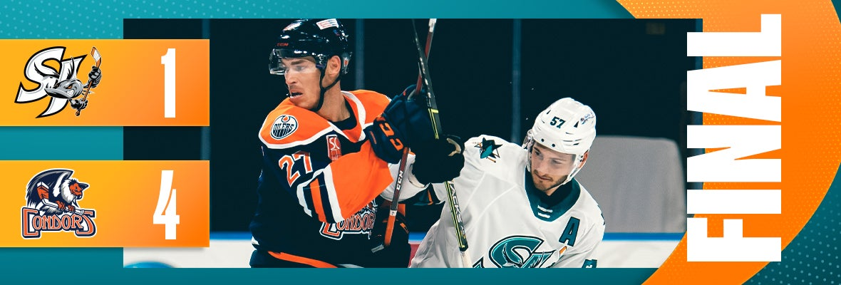 BARRACUDA SCORE FIRST, BUT FALL 4-1 AT BAKERSFIELD