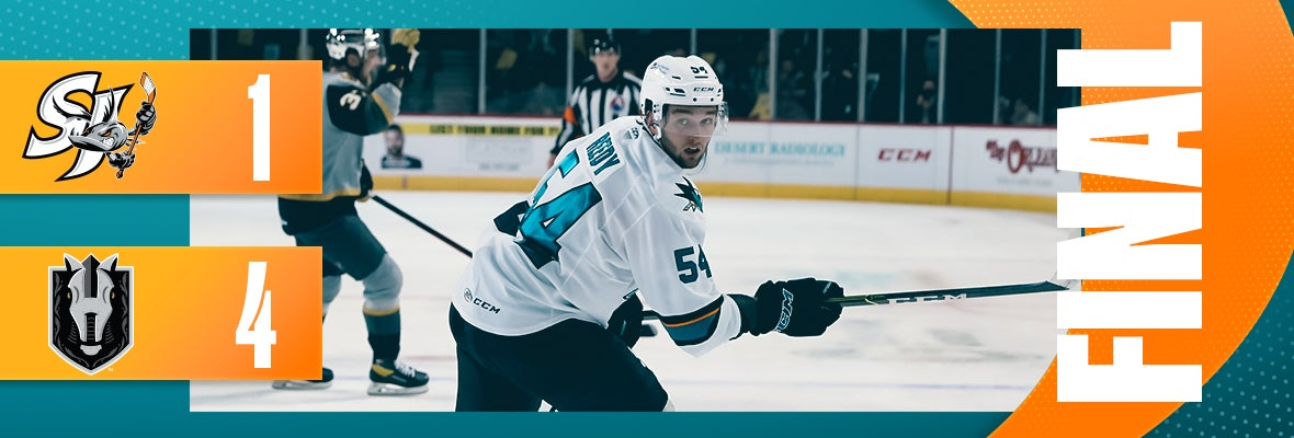 BARRACUDA FALL 4-1 IN GAME ONE OF BEST-OF-THREE SERIES