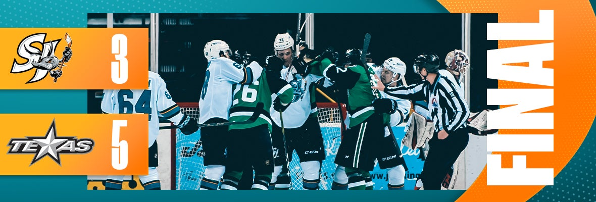 BARRACUDA OUTSHINED BY STARS 5-3