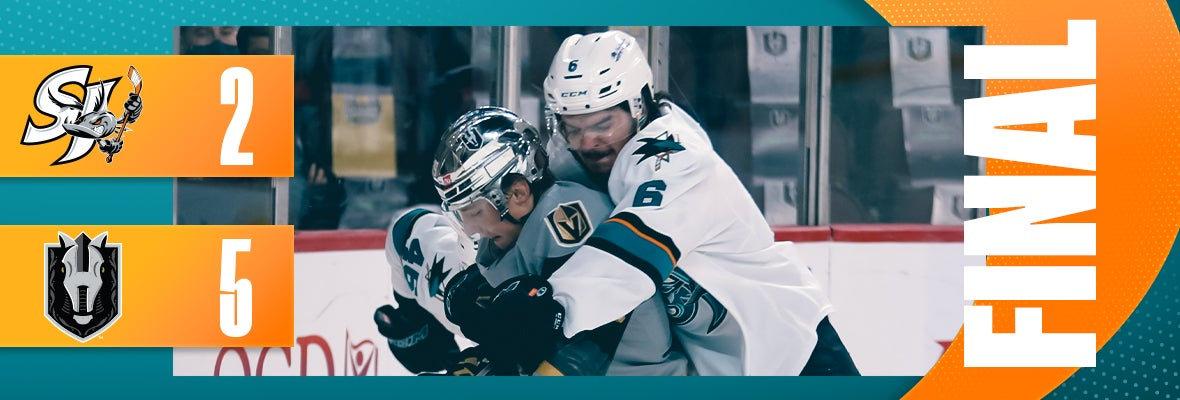 BARRACUDA OUTDONE BY KNIGHTS, 5-2