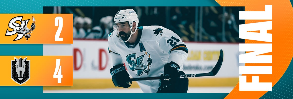 BARRACUDA SEASON ENDS AFTER 4-2 LOSS TO KNIGHTS