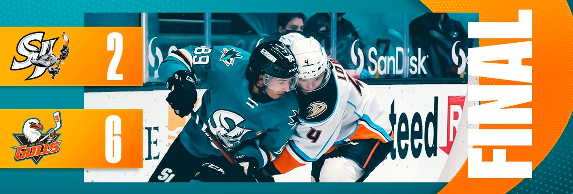 BARRACUDA DOWNED BY GULLS IN HOMESTAND FINALE