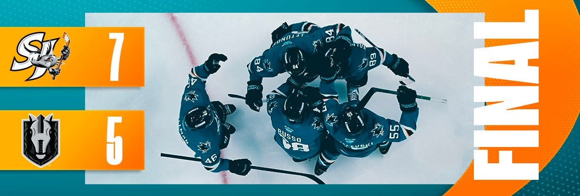 BARRACUDA EXPLODE FOR FIVE POWER-PLAY GOALS