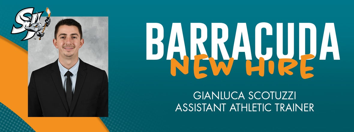 BARRACUDA WELCOME GIANLUCA SCOTUZZI TO STAFF