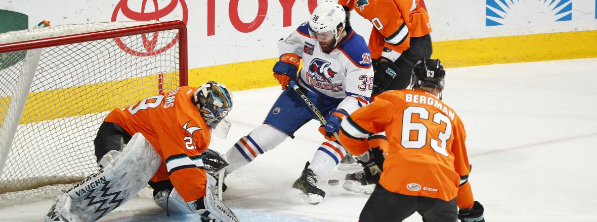 'CUDA DOWN CONDORS 4-3 IN HOME FINALE, KEEP PLAYOFF HOPES INTACT