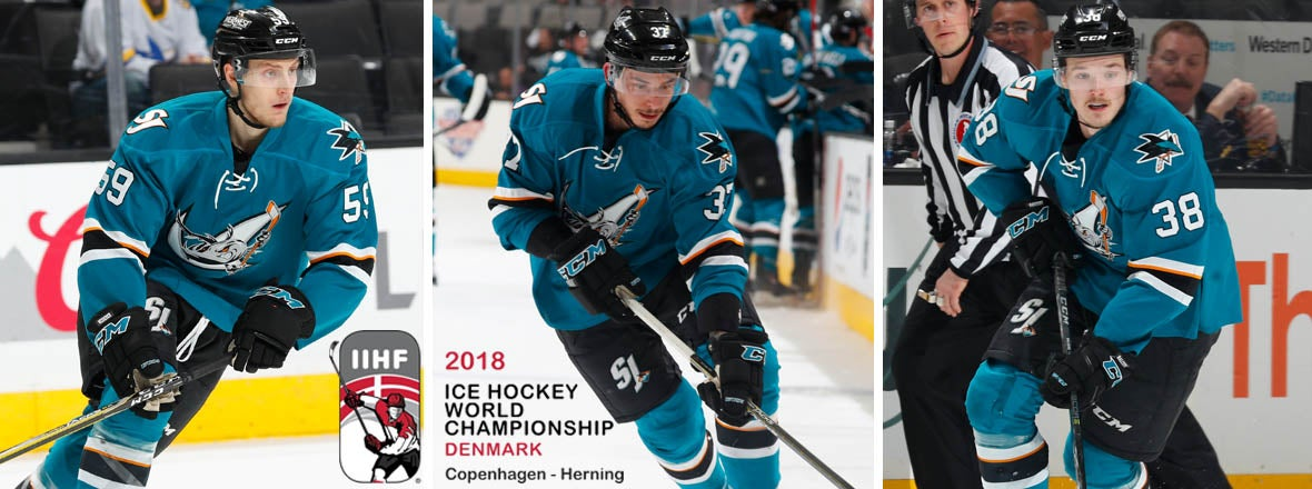 FOUR SHARKS PROSPECTS SELECTED TO COMPETE IN WORLD CHAMPIONSHIPS