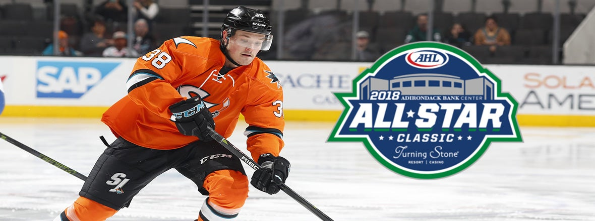 BALCERS ADDED TO THE 2018 AHL ALL-STAR CLASSIC