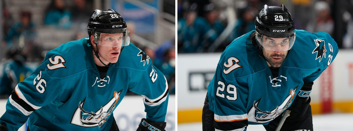 ROBINSON AND STORTINI HAVE FOUND A HOME IN SAN JOSE
