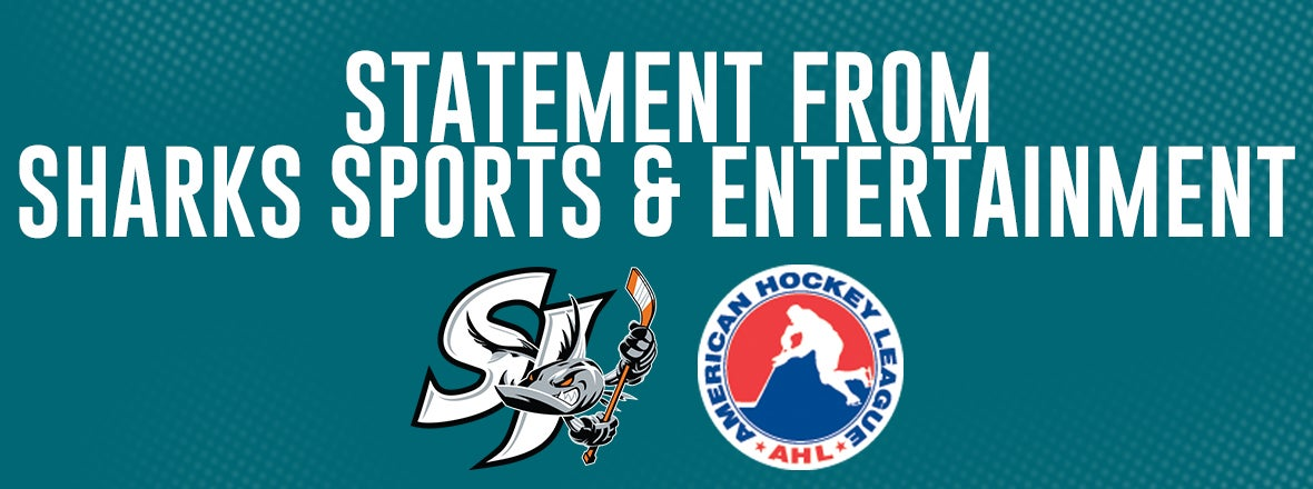 STATEMENT FROM SHARKS SPORTS & ENTERTAINMENT