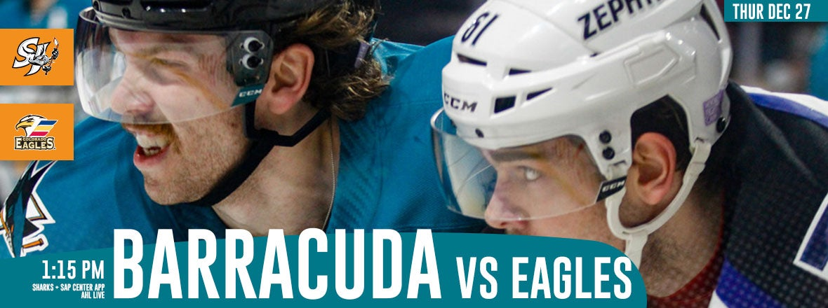 LISTEN LIVE: BARRACUDA VS. EAGLES